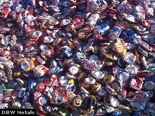 Aluminum Cans - Click to enlarge